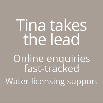 Water licencing support