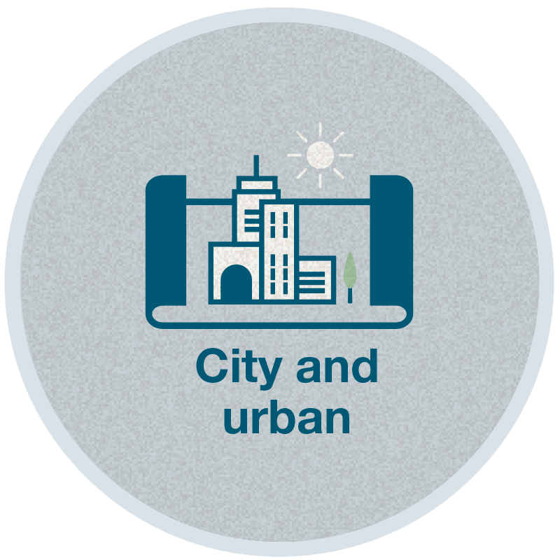 City and Planning logo