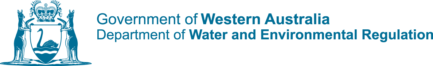 Department of Water and Environmental Regulations logo