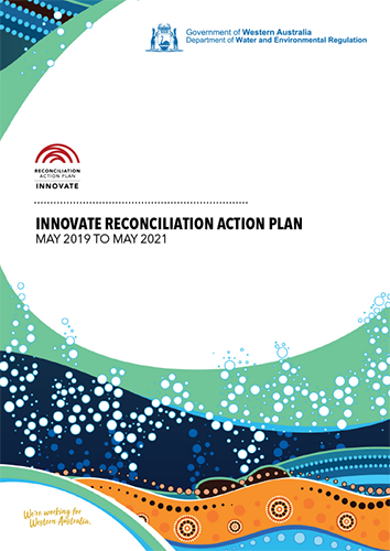 Cover of our Reconciliation Action Plan May 2019